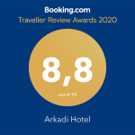 Arkadi Hotel Booking Award 2020