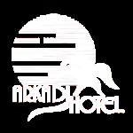 Arkadi Hotel Logo white