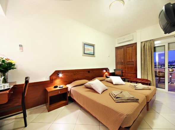 Double Room Arkadi Hotel Chania city center Crete