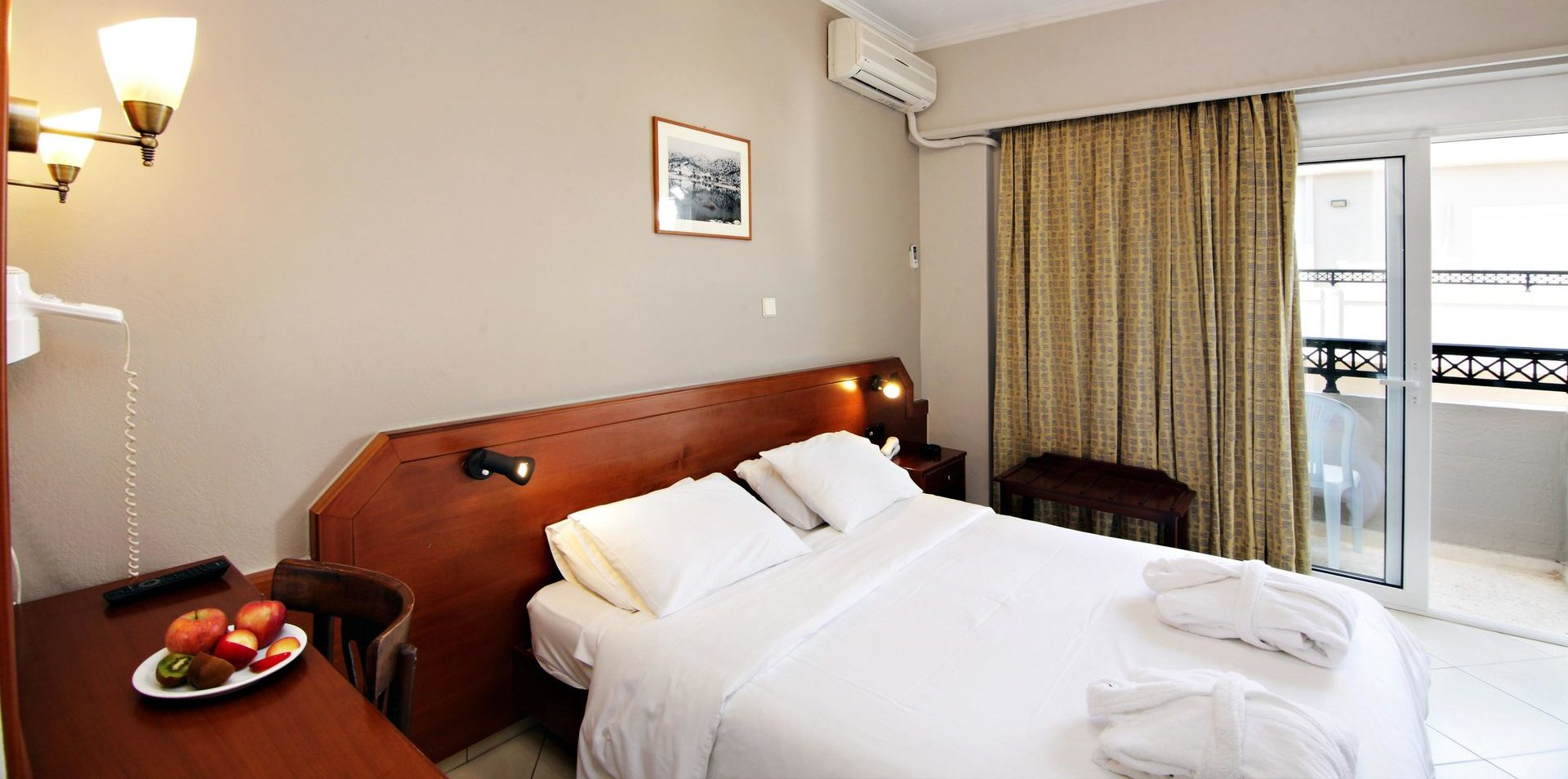 Economy Double Room 1 Arkadi Hotel Chania city center Crete