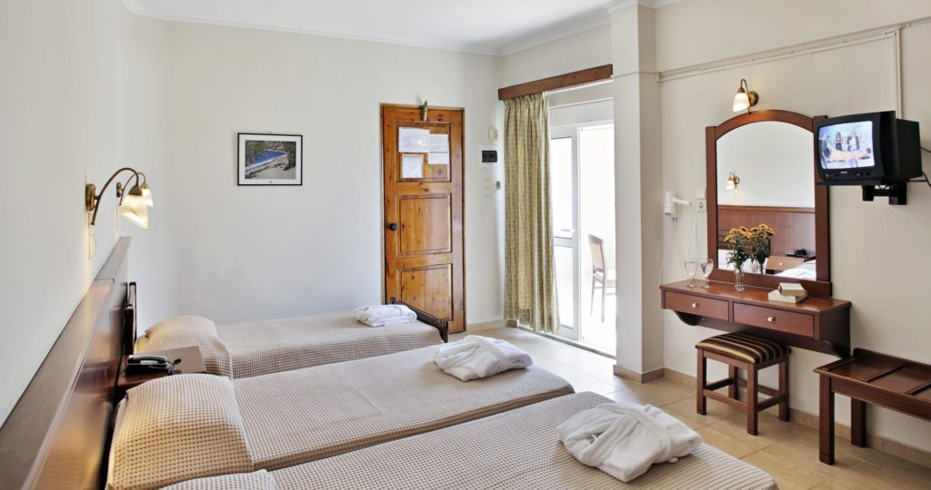 Economy Triple Room Arkadi Hotel Chania city center Crete