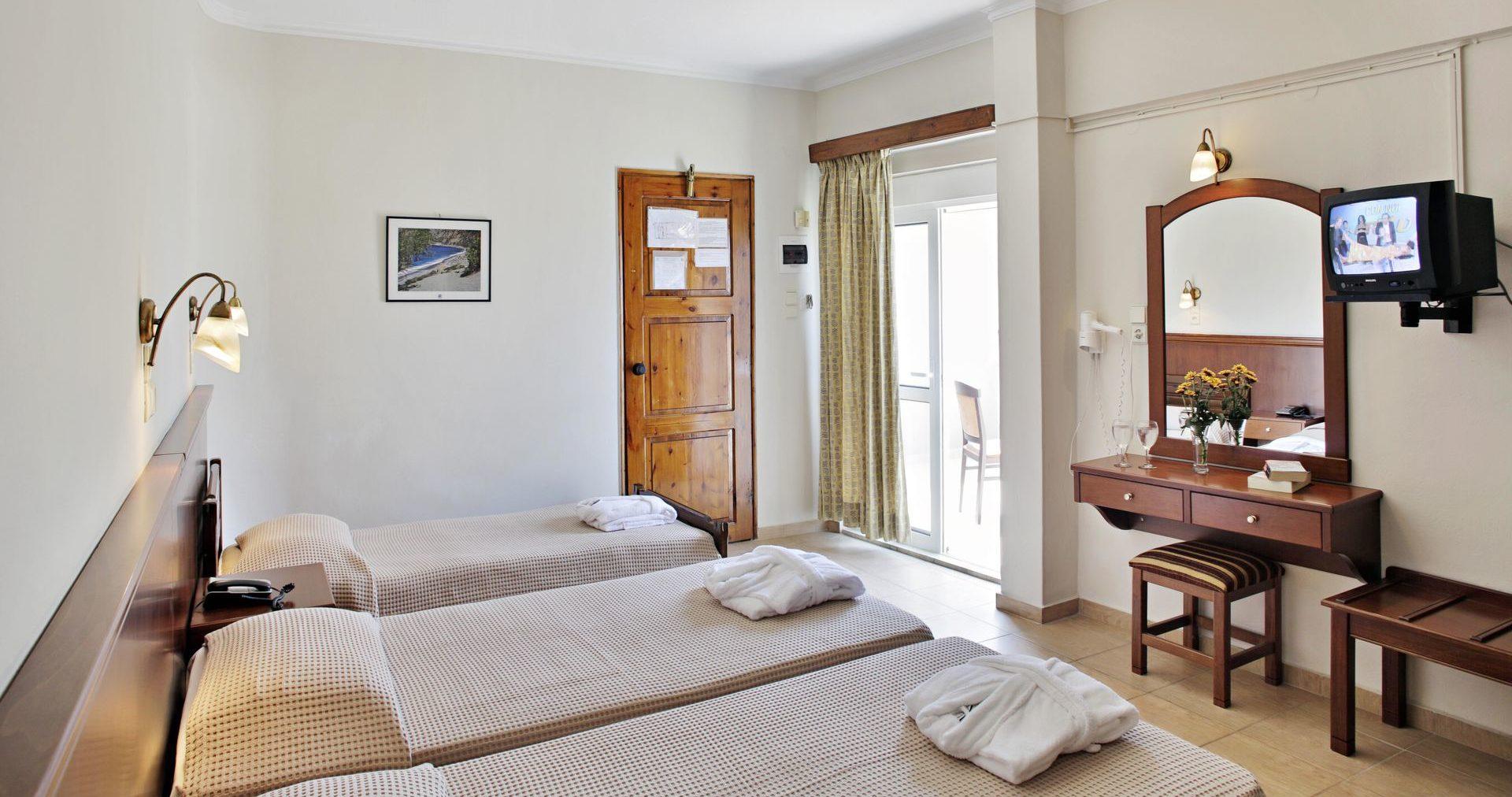 Economy Triple Room Arkadi Hotel Chania city center Crete