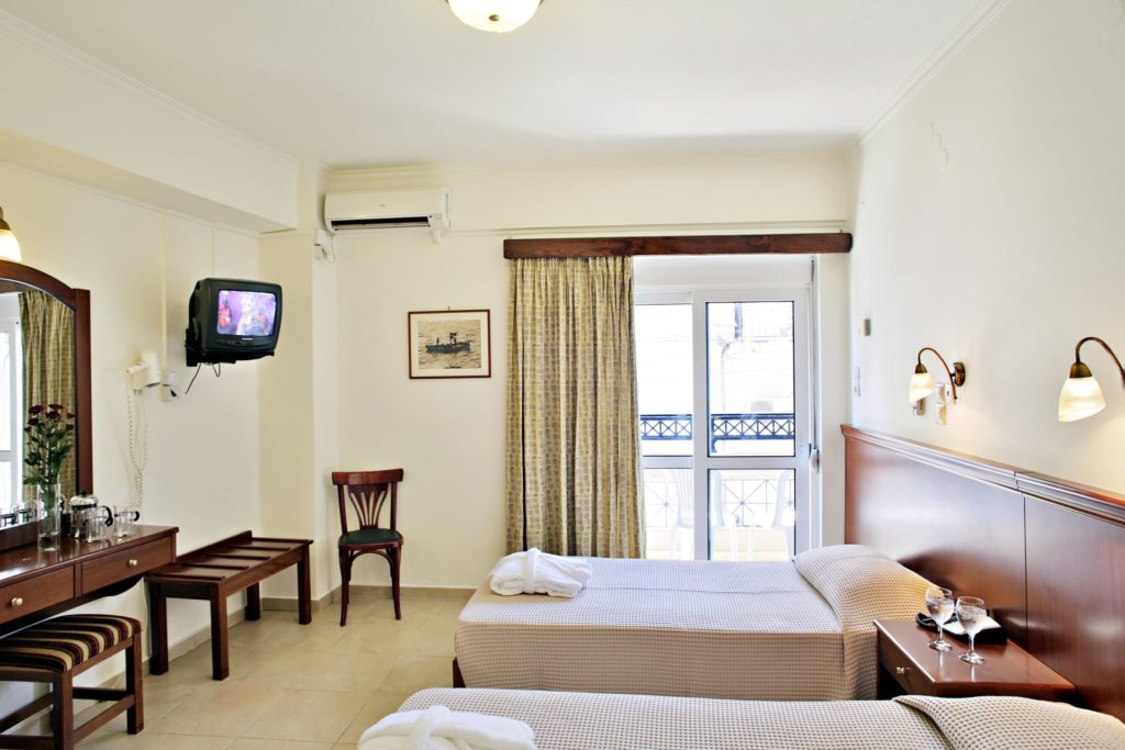 Economy Twin 1 Room Arkadi Hotel Chania city center Crete