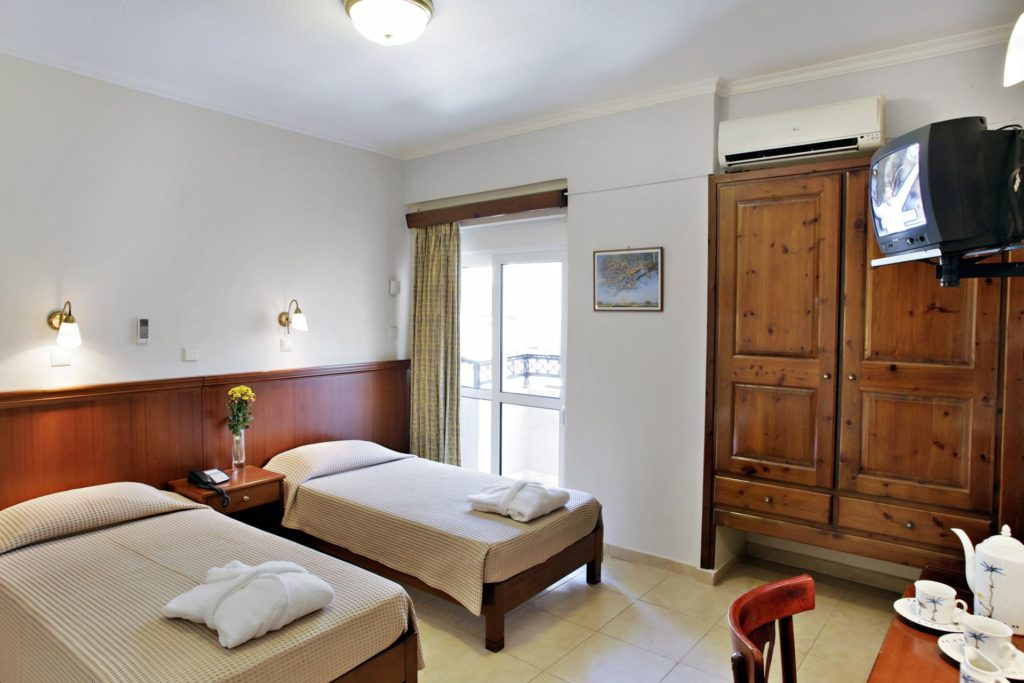 Economy Twin Room Arkadi Hotel Chania city center Crete
